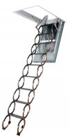 Fakro LSF Tűzgátló, Ollós, Hőszigetelt padlásfeljáró fémlépcső