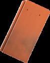 Tondach Pilis egyenesvágású kerámiacserép