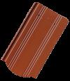 Tondach Kékes ívesvágású kerámiacserép