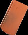 Tondach Pilis ívesvágású kerámiacserép